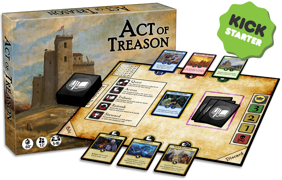 Act of Treason Reward Cards